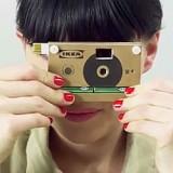 Ikea lancia la fotocamera ecologica in cartone